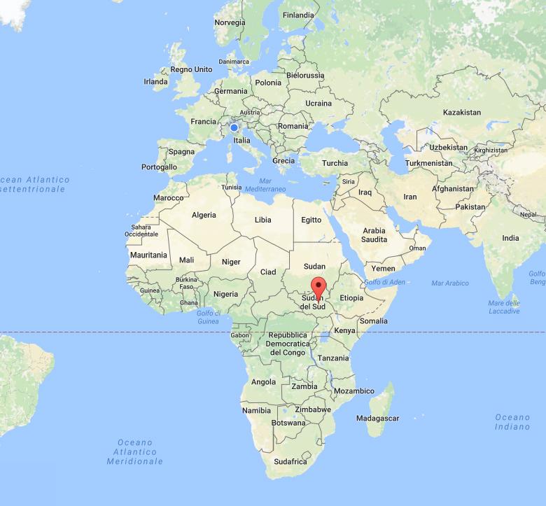 Sud sudan fondazione cesar onlus for Bagno a ripoli dove si trova