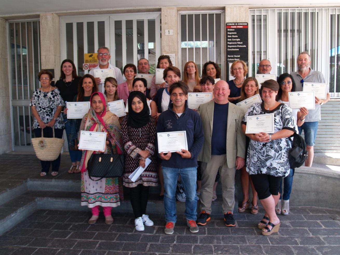 La consegna dei diplomi dei corsi di Fondazione Cesar